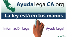 LEGAL ISSUES  LawHelpCA Flyer Spanish  posted july 2