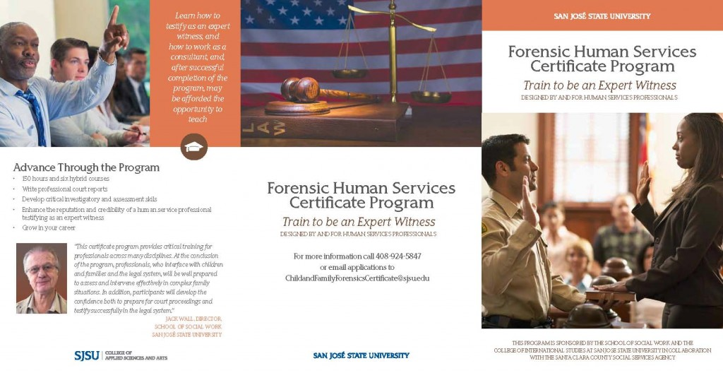 Forensic Human Services Certificate Program | NASWCANEWS.ORG