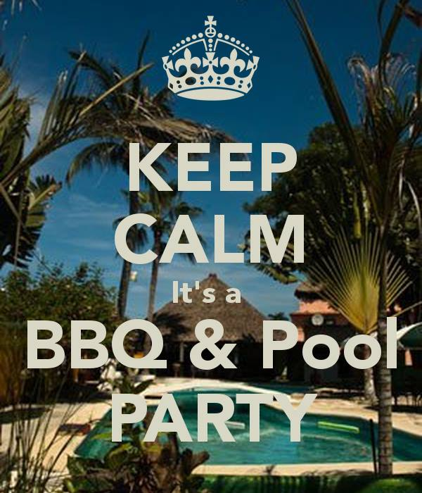 Image result for bbq at the pool