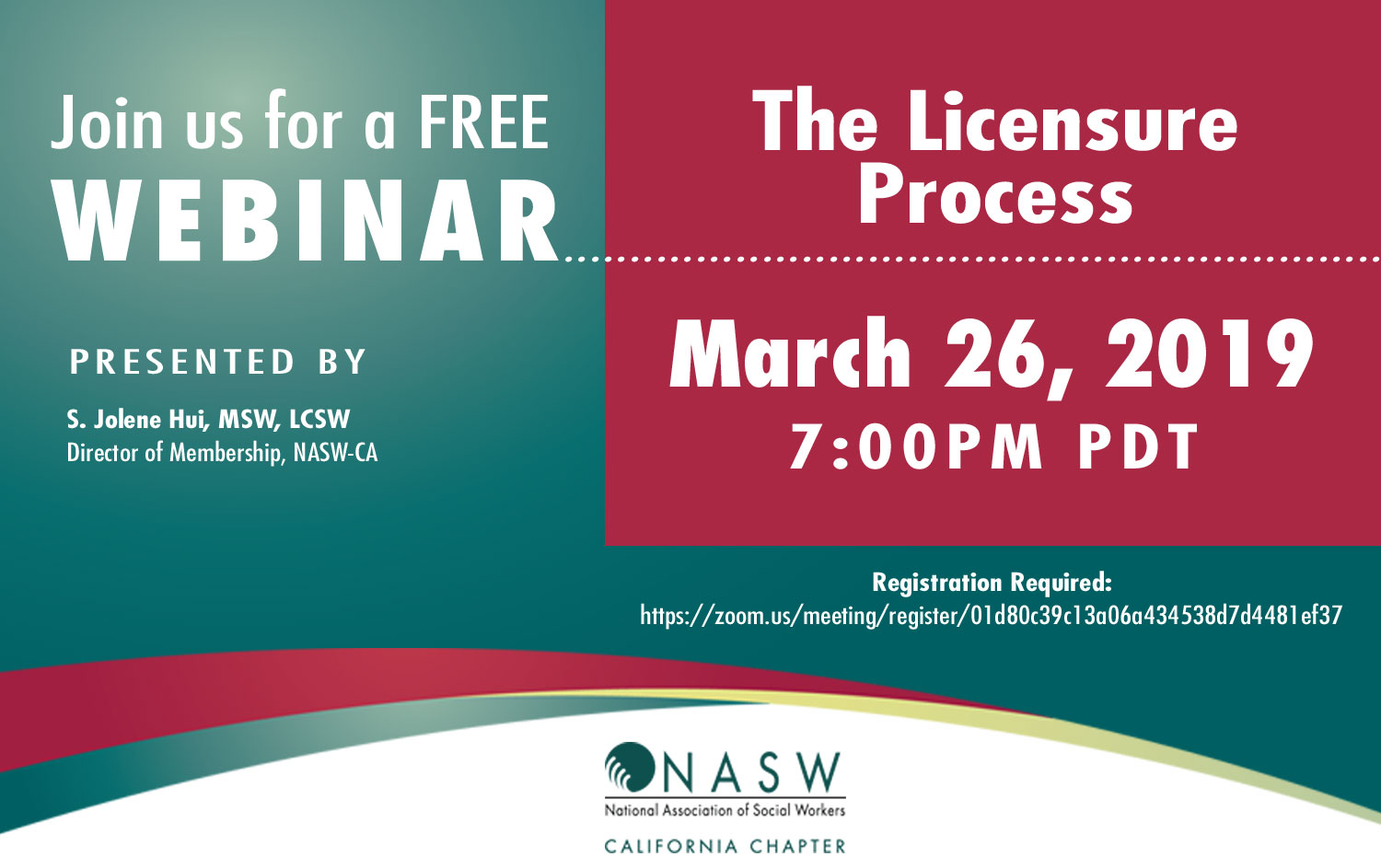 Free Webinar: The Licensure Process | NASWCANEWS ORG
